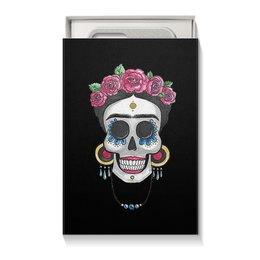 """Коробка для чехлов """"Фрида"""" - череп, цветы, яркий, розы, фрида"""