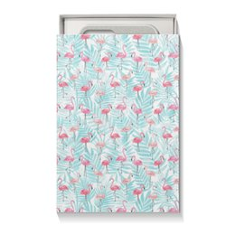 """Коробка для чехлов """"Фламинго"""" - птицы, фламинго"""