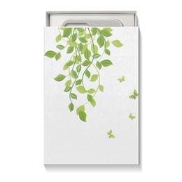 """Коробка для чехлов """"Лето. Summer"""" - бабочки, лето, листья, дизайн, графика"""
