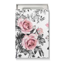 """Коробка для чехлов """"Цветы"""" - цветы, розы"""
