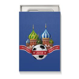 """Коробка для чехлов """"Футбол"""" - футбол, спорт, мяч, 2018"""