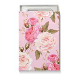 "Подарочная коробка малая (пенал) ""Цветы"" - цветы, розы"
