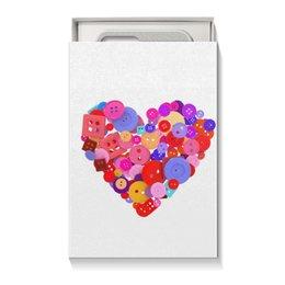 """Коробка для чехлов """"День всех влюбленных"""" - любовь, день святого валентина, валентинка, i love you, день влюбленных"""