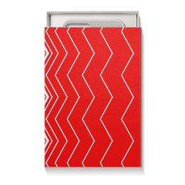 """Коробка для чехлов """"Вибрация, с выбором цвета"""" - волна, абстракция, волны, линии, вибрация"""