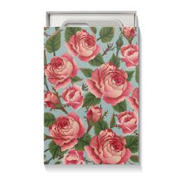 "Подарочная коробка малая (пенал) ""Розалия"" - цветы, розы"