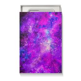 """Коробка для чехлов """"Космос (розовый)"""" - space, космос, cosmos, pink space, космический дизайн"""