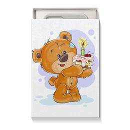 """Подарочная коробка малая (пенал) """"Мишка Тэдди"""" - мишка тэдди, медвежонок, игрушка, подарочный, праздничный"""