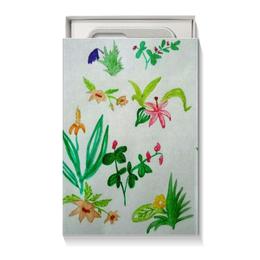 """Коробка для чехлов """"Ботаника"""" - цветы, тропики"""