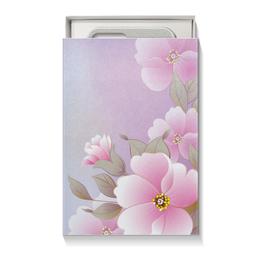 """Подарочная коробка малая (пенал) """"Летние цветы"""" - цветы, природа"""