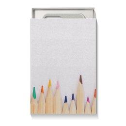 """Коробка для чехлов """"Карандаши"""" - осень, подарок, карандаши, сюрприз, подарочная упаковка"""