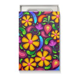 """Подарочная коробка малая (пенал) """"Цветочное настроение"""" - цветы"""