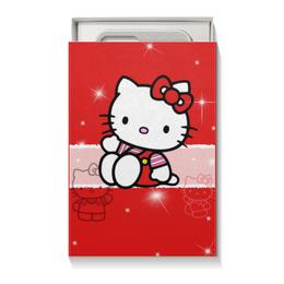 "Коробка для чехлов ""Hello Kitty с искрами"" - hello kitty, мультфильм, для детей, кошечка, искры"