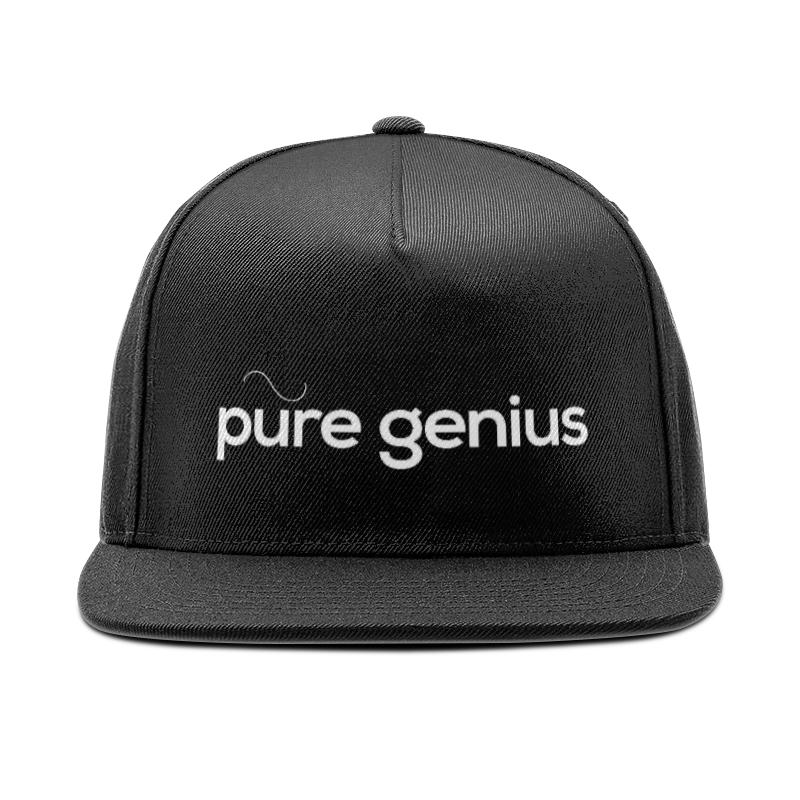 Кепка снепбек с прямым козырьком Printio Genius кепка снепбек с прямым козырьком printio genius
