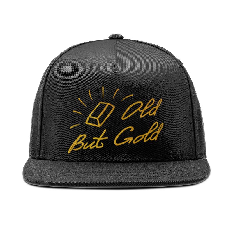 Кепка снепбек с прямым козырьком Printio Old but gold - ego sun кепка снепбек с прямым козырьком printio золотая девочка ego sun
