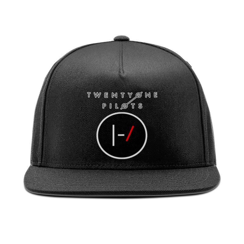 Кепка снепбек с прямым козырьком Printio Twenty one pilots майка print bar twenty one pilots тайлер и красная шапка