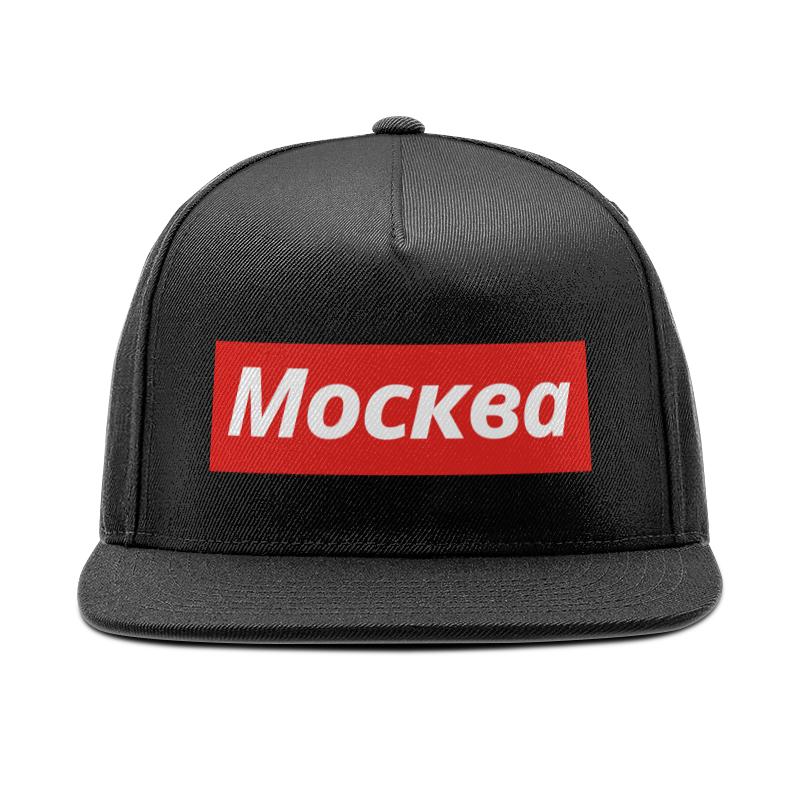 Кепка снепбек с прямым козырьком Printio Москва спортивные товары москва
