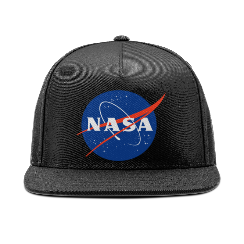 Кепка снепбек с прямым козырьком Printio Nasa astronaut snapback