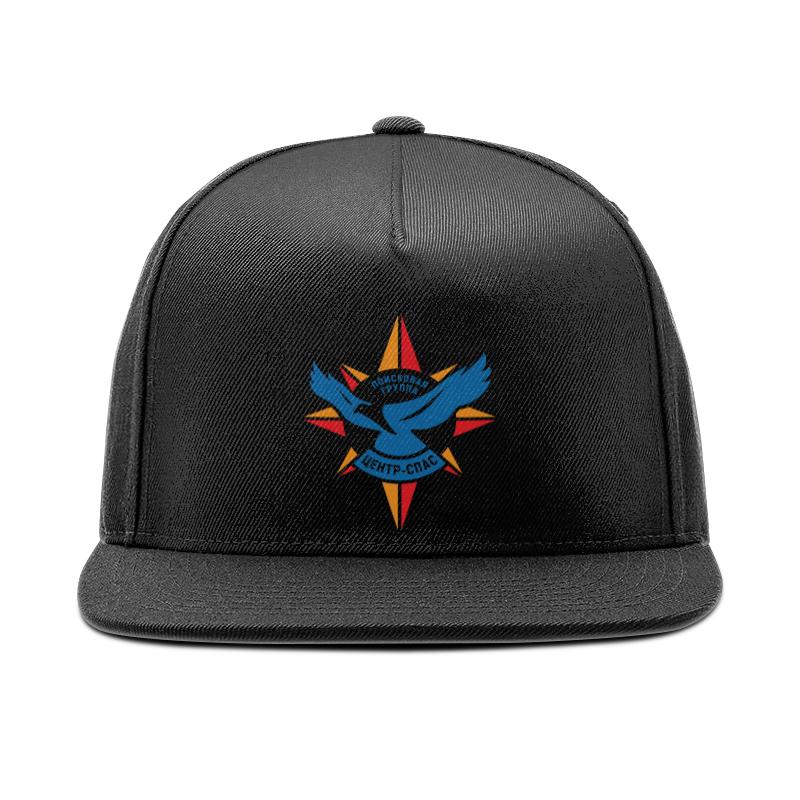 цена на Кепка снепбек с прямым козырьком Printio Sokolov cap black