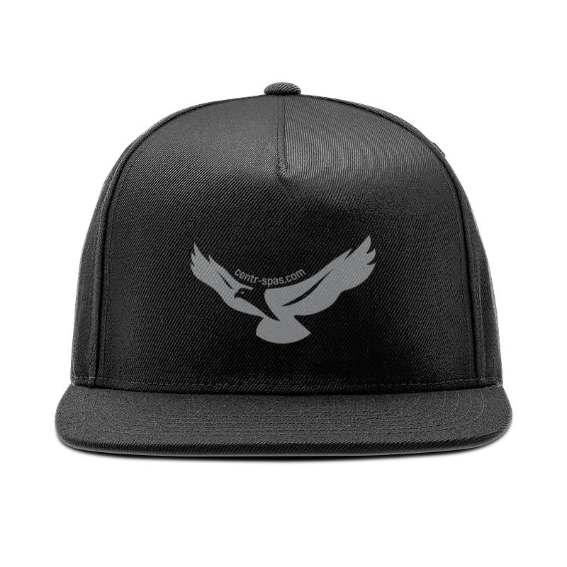 Кепка снепбек с прямым козырьком Printio Sokolov cap black цена