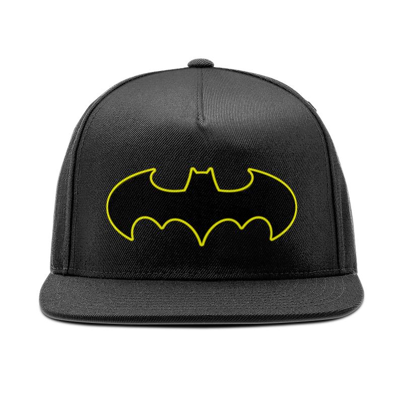 Кепка снепбек с прямым козырьком Printio Бэтмен кепка снепбек с прямым козырьком printio арсенал