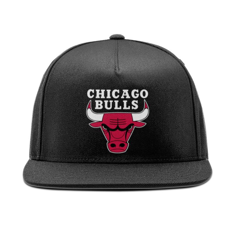 Printio Чикаго буллз кепка снепбек с прямым козырьком printio нью йорк