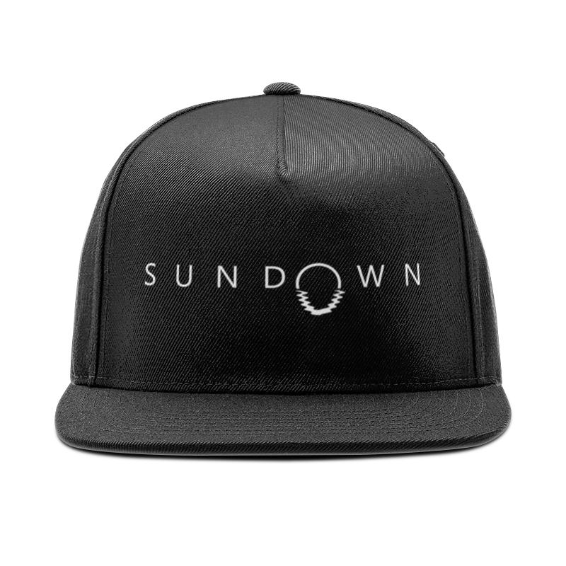 Кепка снепбек с прямым козырьком Printio Sundown лонгслив printio sundown