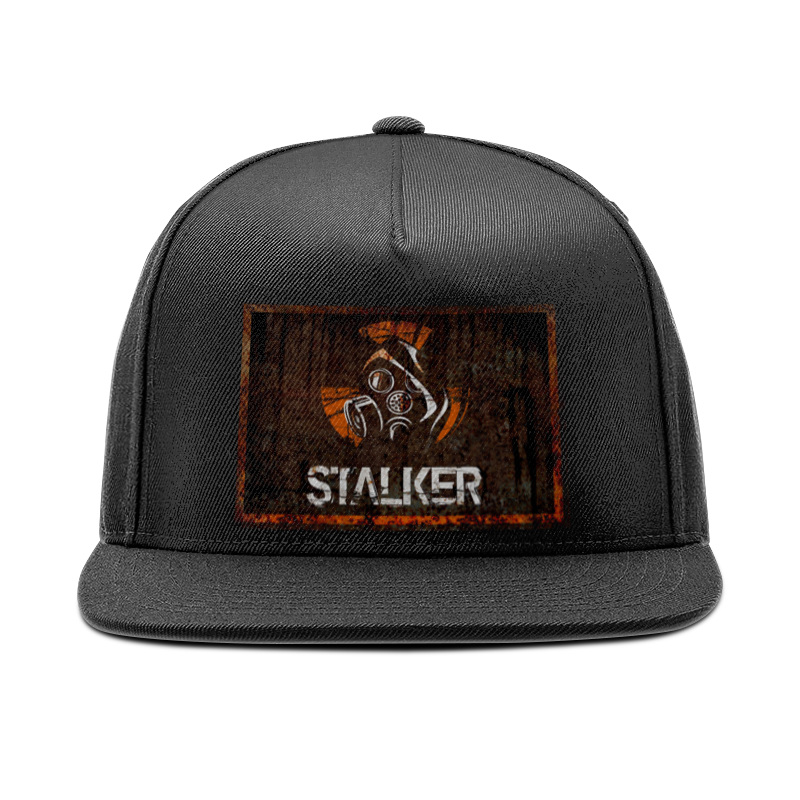 Printio Сталкер кепка снепбек с прямым козырьком printio футбол