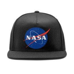 """Кепка снепбек с прямым козырьком """"Nasa Astronaut Snapback"""" - илонмаск, nasa, space, космос, наса"""