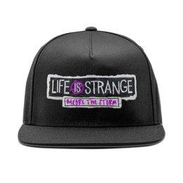 """Кепка снепбек с прямым козырьком """"Life Is Strange"""" - игры, life is strange"""