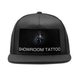 """Кепка снепбек с прямым козырьком """"Мастер татуировок."""" - арт, инструмент, татуировка, наколка, салон"""