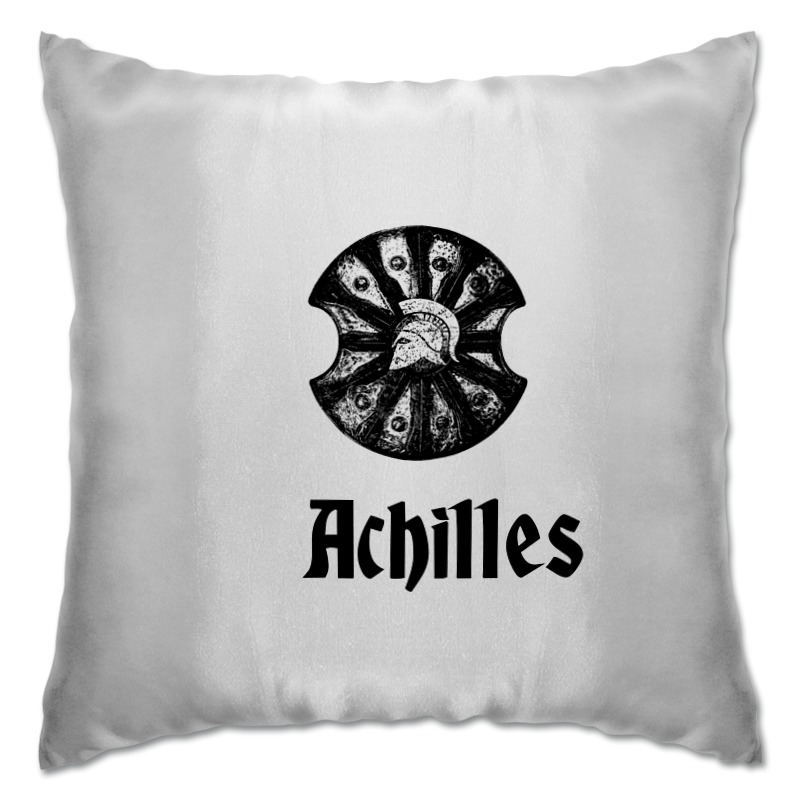 Подушка Printio Achilles купить часы с изображением музыкальной группы