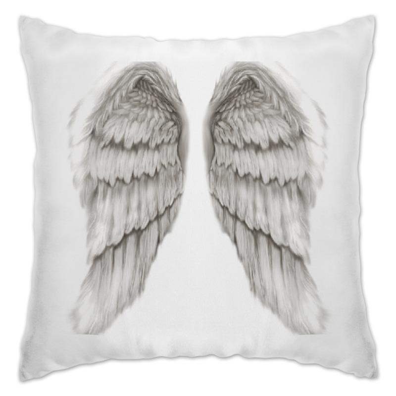 Подушка Printio Отдохни на крыльях ангела отсутствует здоровье на крыльях пчелы
