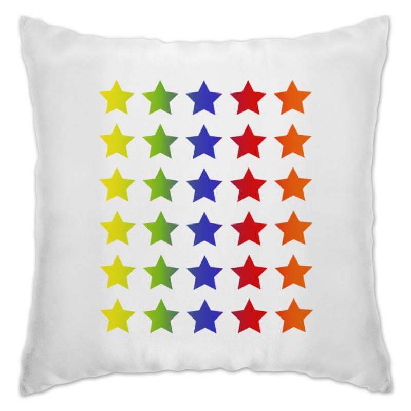 Подушка Printio Яркие звезды rubis пинцет классик шесть звезд