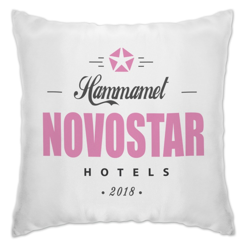 Подушка Printio Novostar hotels тунис hammamet hotels great escapes africa самые красивые отели африки