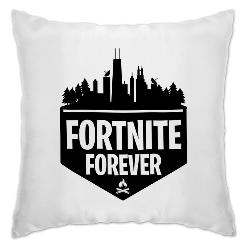 Подушка Printio Fortnite forever 2019 new fortnite 100