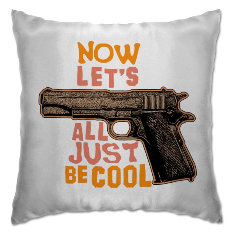 Подушка Printio Оружие арт стоимость