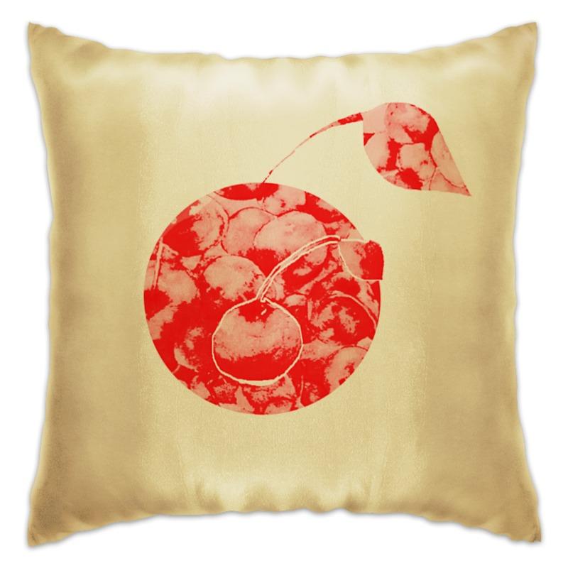 Подушка Printio Вишенки colorful подушка подушка сиденья может быть фруктовый порошок дефолт