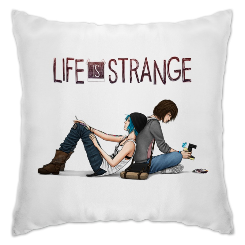 Подушка Printio Life is strange life is magic