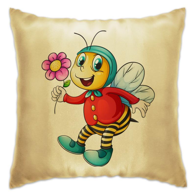 Подушка Printio Пчёлка