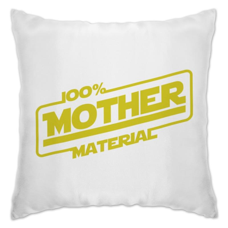 Подушка Printio 100% mother 100