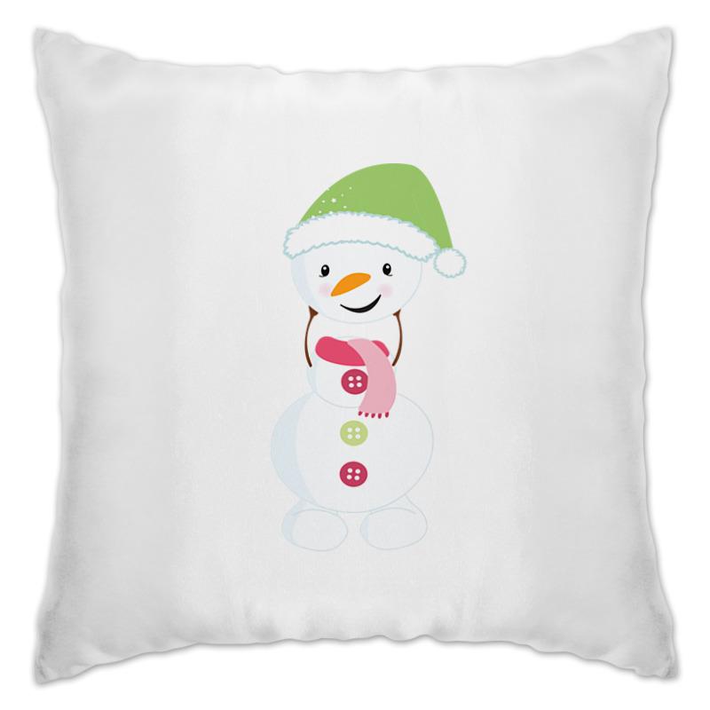 Подушка Printio Снеговик кепка printio снеговик