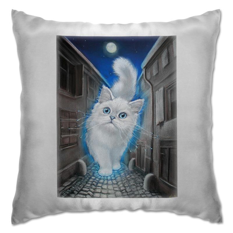 Подушка Printio Лунный кот