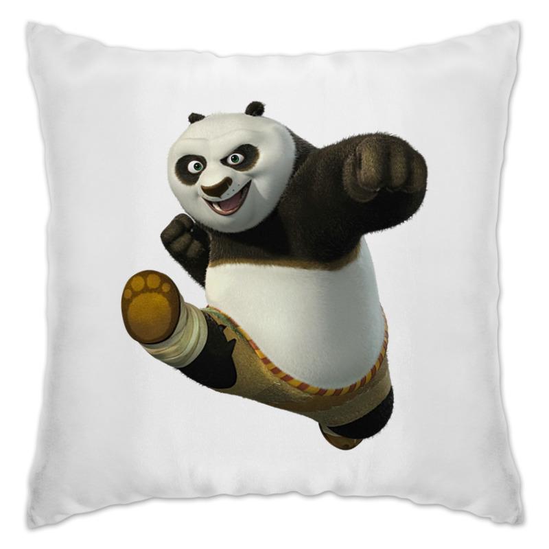 Подушка Printio Кунг-фу панда дригс скот кунг фу панда неистовая пятерка
