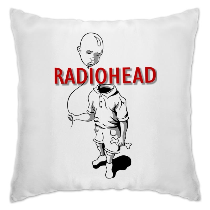 Подушка Printio Radiohead cd из японии radiohead