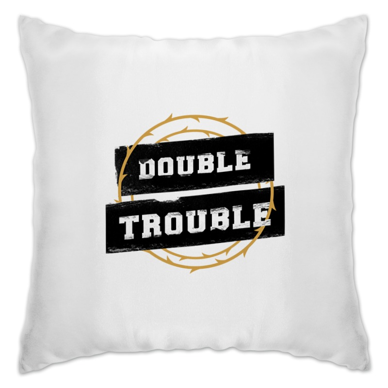 Подушка Printio Double trouble цена
