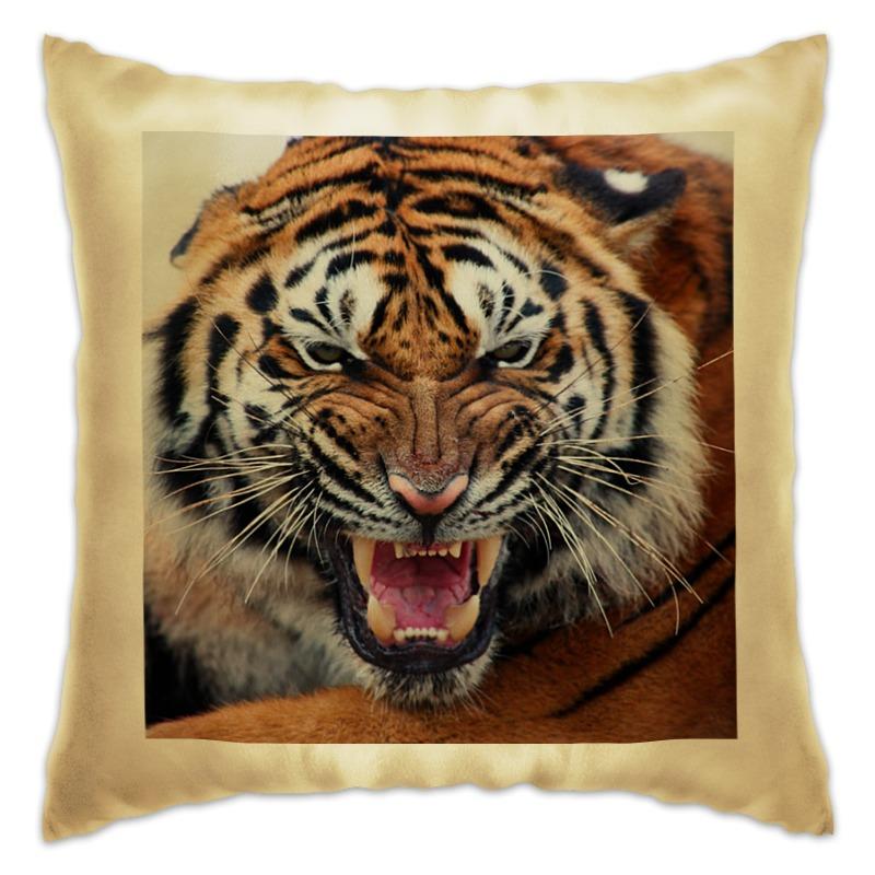 Подушка Printio Амурский тигр