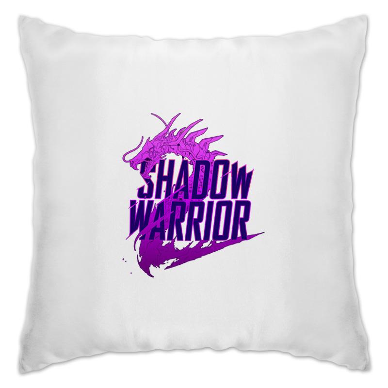 Подушка Printio Shadow warrior кеды warrior 905