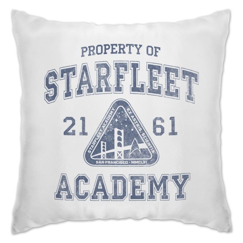 Подушка Printio Starfleet academy princess academy