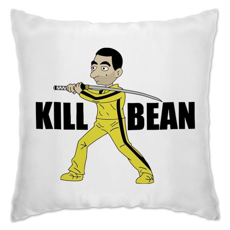 Подушка Printio Kill bean футболка классическая printio kill bean