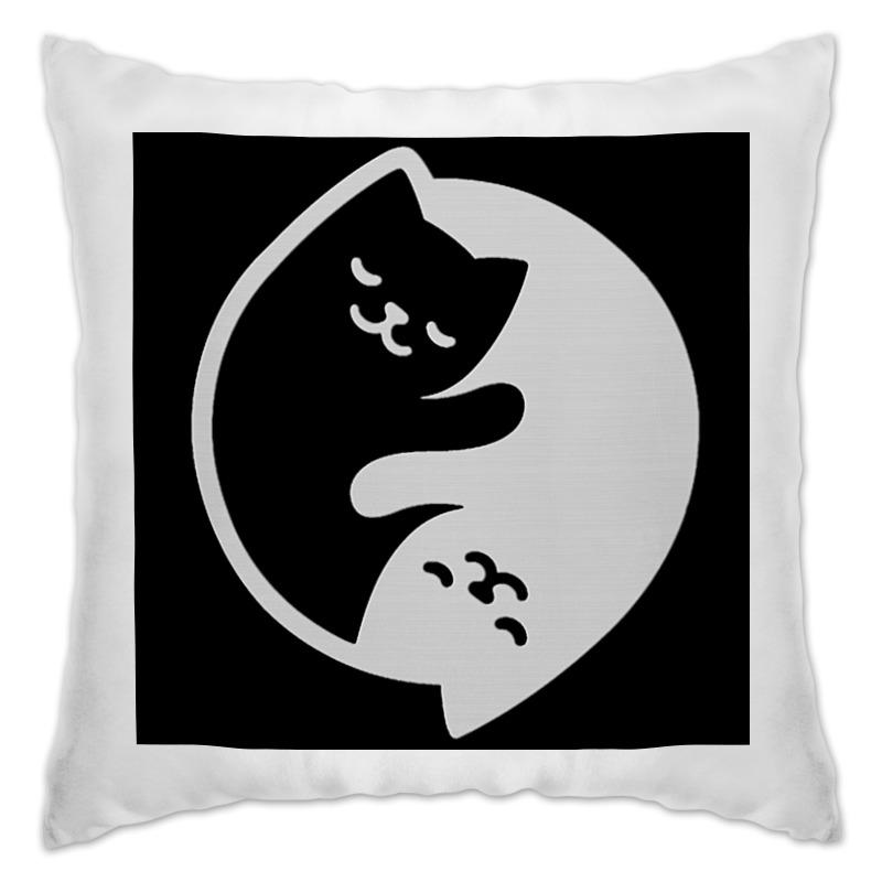 Подушка Printio Кошки на подушке..... гурина и потягушки на подушке потешки с наклейками